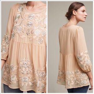 NEW Anthropologie embroidered boho b…